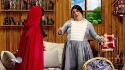 """Los Cuentos de Sammy: Mariazel es una Caperucita Roja """"bien sabrosa"""""""