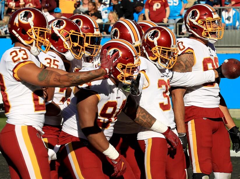 Washington Redskins vCarolina Panthers