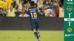 Giovani dos Santos fue el héroe del América en los penales ante Dynamo