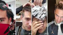Vadhir Derbez muestra el paso a paso para teñirse el cabello de rubio (VIDEO)