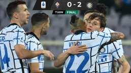 ¡Líder... de momento! Inter triunfa en su visita a la Fiorentina