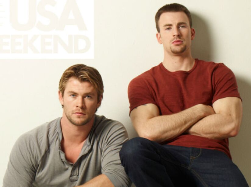 ¡Batalla de los Chris! ¿Con quién se quedaban: Christopher Hemsworth o Chris Evans?