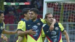 ¡Exquisita vaselina! Sebastián Córdova marca el 2-1 ante el San Luis