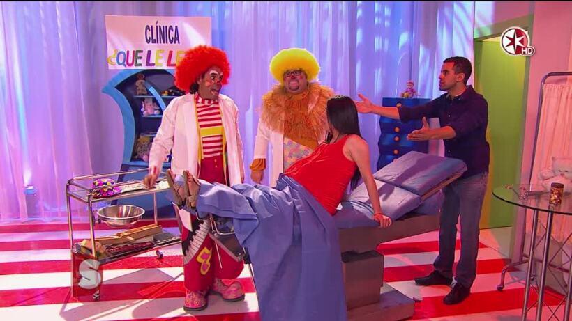 ¡VIDEO! La primera clínica de ¿Payasos?