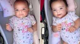 Emilia y Paula, las gemelas de Jacky Bracamontes roban sonrisas en redes sociales