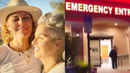 Daniela Magun y Federica Quijano rescatan a un mapache herido y lo llevan al hospital
