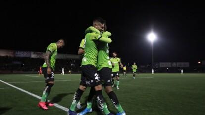 Cerca del final del encuentro, el cuadro fronterizo anotó los dos goles que les dieron la victoria en la ida de la semifinal de la Copa MX.   Tras 87' de un encuentro cerrado y descolorido, los de Gabriel Caballero sacaron ventaja en la serie.