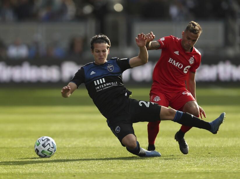 MLS Toronto FC Earthquakes Soccer
