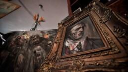 Schmill, el pintor mexicano de monstruos