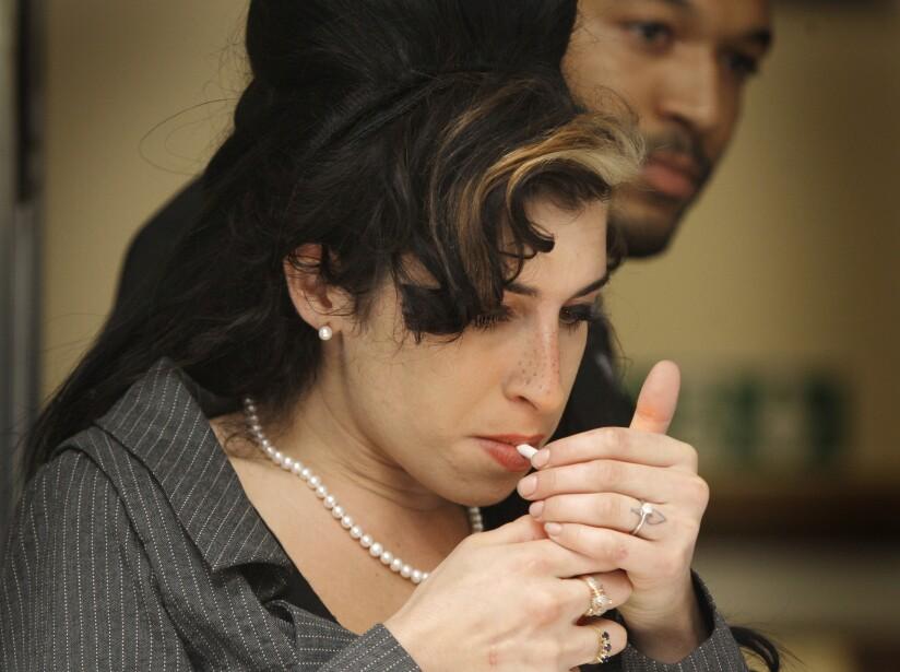 Amy Winehouse Frases de Amy Winehouse para entender su ingenio de tomar el dolor y convertirlo en arte