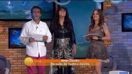 Belén Carillo hermana de Yadhira Carrillo, regala ropón en su nombre