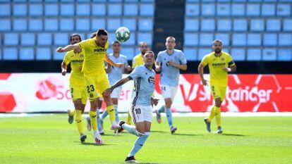 Con un solitario gol de Manu Trigueros, el Villarreal se lleva los tres puntos y termina hunfiendo más al Celta de Vigo.