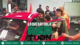¡Regalazo! Utilero del Santos se ganó un auto en el Día de Reyes
