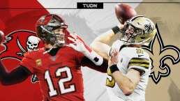Brady - Brees: el partido de los 'cuarentones' en Playoffs de NFL