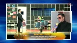 Fernando Colunga estrena obra de teatro