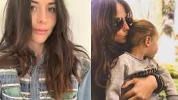 Zuria Vega comparte su rutina para mantenerse en forma y su hija trata de seguirle el paso