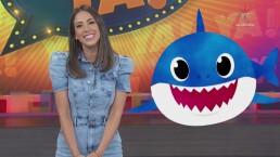 Cynthia Urías reta a sus compañeras a hacer el 'baby shark challenge' para tonificar el abdomen