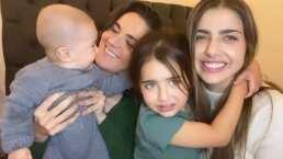 Los hijos de Michelle Renaud y Zoraida Gómez se conocen y comparten el adorable encuentro