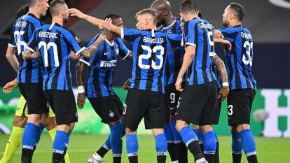 Con goles de Romelu Lukaku y Christian Eriksen, el Inter consigue su paso a los cuartos de final de la Europa League