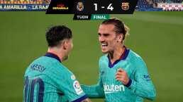 ¡Convincente! Barça golea al Villarreal y se acerca al Real Madrid