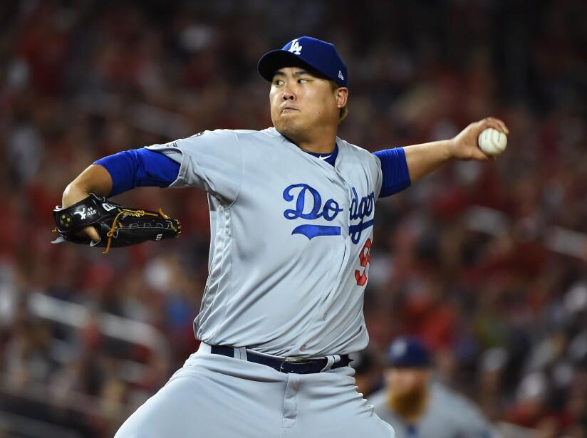Hyun-Jin Ryu pasa de Los Angeles Dodgers a los Toronto Blue Jays.