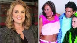 """Erika Buenfil se vuelve """"Federica P.Luche"""" por un día y bromea al revelar cómo conseguirá dinero"""