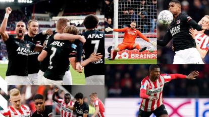 El AZ Alkmaar golea al PSV de Erick Gutierrez 4-0 en casa.