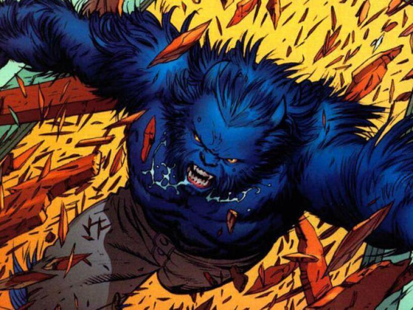 9. Henry Philip McCoy, Beast (The X-Men): El padre del Dr. McCoy trabajaba en una planta nuclear, ex puesto a la radiación pasó sus genes a su hijo.