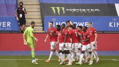 Manchester United apretó y clasificó a Champions League | La victoria de los 'Red Devils' y más de la última jornada de la Premier League. | Leicester City 0-2 Manchester United | Los 'Red Devils' abrieron el marcador hasta los 71' por la vía penal y Lingard (90+8') selló la victoria.