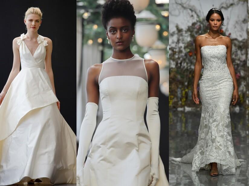 Ideas de vestidos de novia para 2019