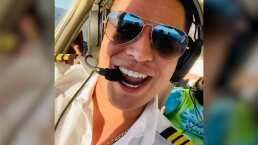 'Iraaa, aquí vengo arriba': Eduin Caz conquista los cielos y pilotea por primera vez una avioneta
