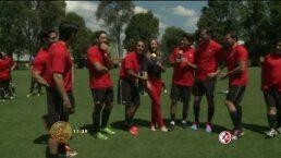 Partido amistoso Televisa Deportes VS HOY