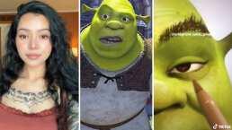 Dibujaron a Bella Poarch al estilo de Shrek y es una ogra hermosa