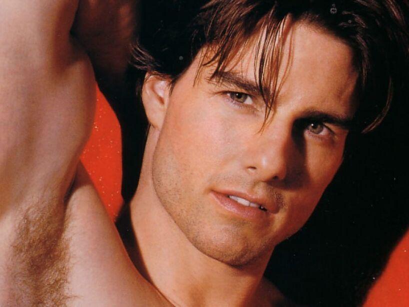 2. Tom Cruise: Sensual estrella de Risky Business, Top Gun, Eyes Wide Shut y Misión: Imposible, entre otras.