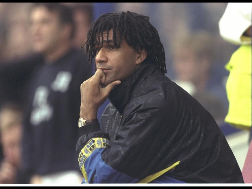 Ruud Gullitt the Chelsea manager