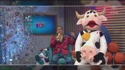 Esta es la verdadera historia de 'Vaquita la del barrio', la mascota oficial de 'Cuéntamelo ya!... Al fin'
