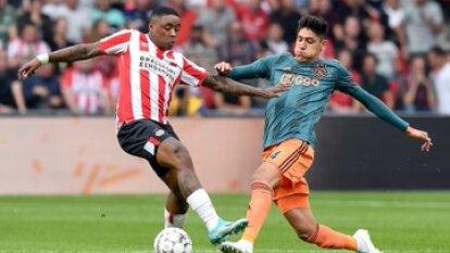 Edson Álvarez jugó los 90 minutos y fue amonestado.