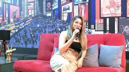 Sofía Reyes emocionada por ser parte del #TeamNatalia
