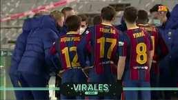 ¡Tómala, Griezmann! Así fue como Riqui Puig pidió tirar el penal ganador contra Real Sociedad