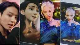 BLACKPINK y BTS, princesas y príncipes del K-pop con el filtro de Pixar