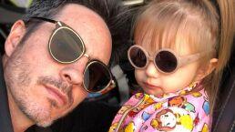 Mauricio Ochmann presume el manicure que le hizo a su hija, Kailani
