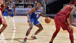 Knicks lideran el Top 10 de la NBA