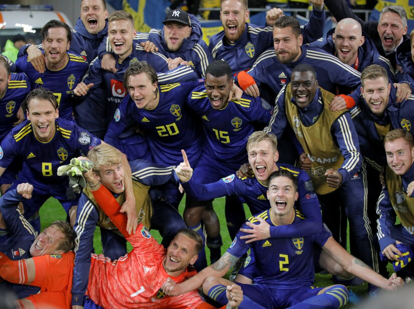 Romania Sweden Euro 2020 Soccer