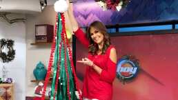 """""""Lúzete"""": Árbol de Navidad enrollable y guárdalo muy fácil cuando termine diciembre"""
