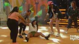 Mariana Echeverría demuestra que su embarazo no es impedimento para divertirse bailando