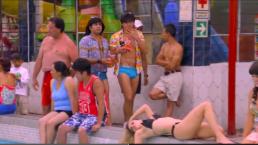 Vitor y Albertano van de excursión a un balneario