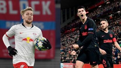 Así se presentan Leipzig y Atlético de Madrid a los Cuartos de la Champions   Estas son las condiciones en las que llegan al duelo por un boleto a las Semifinales ante PSG.