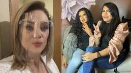 """Erika Buenfil y el staff se transforma en """"Las perdidas"""" y graban tiktok"""