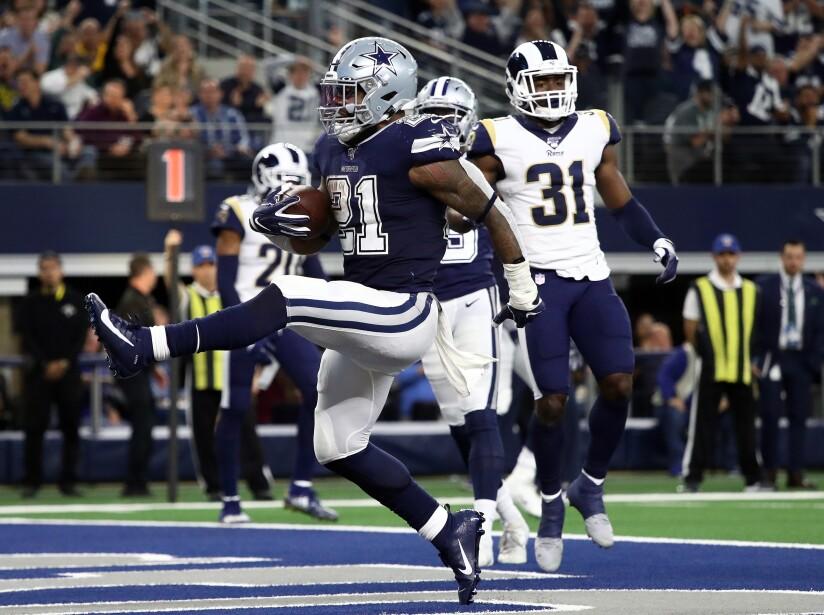 Los Angeles Rams vDallas Cowboys