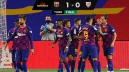 Con gol de Rakitic, Barcelona se pone líder